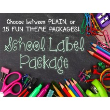 School Label Package