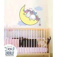 Sleepy Unicorn Wall Art